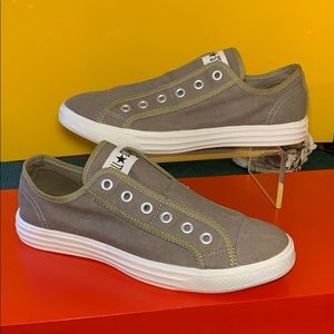 Olive Army Green Converse Sneakers Size 8 Mens 10W
